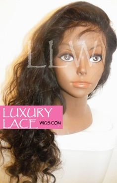 18 in. Luxury Lace Malaysian BodyWave Full Lace Wig #2 Color by Luxury Lace Wigs. $369.99