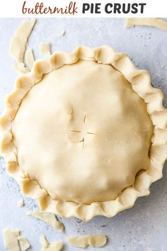 Lard Pie Crust, Pie Crusts, Great Desserts, Dessert Recipes, Buttermilk Pie, Holiday Pies, Holiday Recipes, My Pie, Thanksgiving Pies