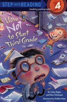 how  not to start third grade book