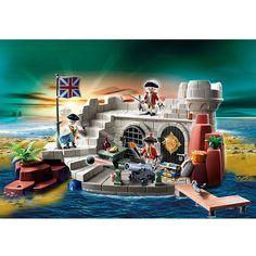 Playmobil Piraci Twierdza żołnierska ze skrzynią na skarb, 5139, klocki