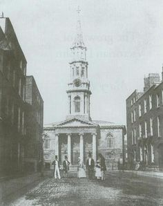 Dublin,Ireland in George's Church,a former Church of Ireland parish church located in Hardwicke St,Dublin. Old Images, Old Pictures, Old Photos, Vintage Photos, Dublin Street, Old Street, Church Of Ireland, Dublin Ireland, Cities