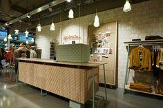 Sandwich concept store, Essen   Germany store design