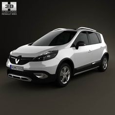 Renault Scenic XMOD 2013 3d car model from humster3d.com. Price: $75