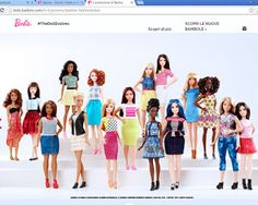 "Pinkylife: ""Curvy"" Barbie dolls: Why I don't like them"