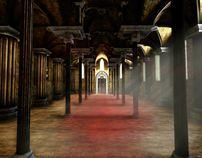 Cathedral by Paweł Bystrzycki, via Behance