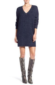 Glamorous V-Neck Sweater Dress available at #Nordstrom