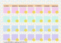 Ingenio DIY: Calendario y Organizador semanal descargable