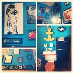 Our Pinup Bathroom