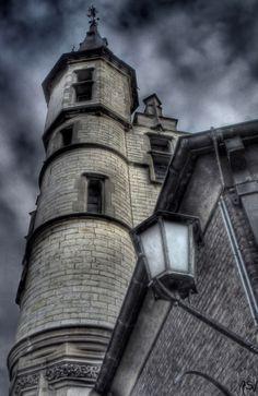 Goth:  The #Moonstruck ~ Dark castle.
