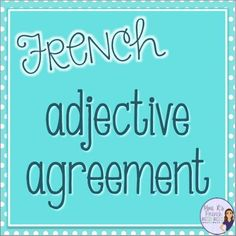 Do you want a quick and easy way to assess your students on French adjective…