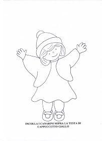 Maestra Mariangela: I QUATTRO CAPPUCCETTI : ROSSO,GIALLO,BLU E VERDE ( SCHEDE) Female, Winter Time, Green, Storytelling