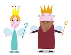 Ben and Holly's Little Kingdom: The Queen and the King - Blog de los niños