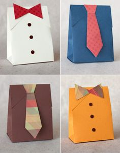 DIY Father's Day Gift Boxes