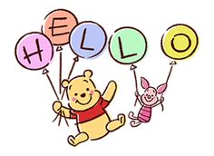 Pooh and Piglet - Winnie the Pooh