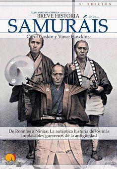 Portada Breve historia de los Samuráis