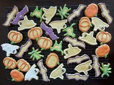 classic sugar cookies + royal icing #recipe #halloween