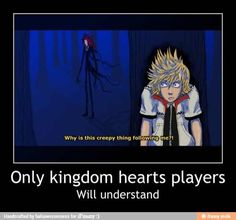 Kingdom Hearts 2 from Roxas' point of view Kingdom Hearts 3, Art Manga, Anime Art, Cry Anime, Heart Pictures, Girls Anime, Funny Comics, Final Fantasy, Memes