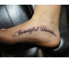 1000 images about tattoo on pinterest infinity tattoos for Beautiful disaster tattoo designs