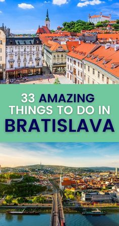 Tasting delectable beer. Exploring quaint areas. Marveling at majestic rivers. These are just some of the cool things to do in Bratislava. Click to find more. | What to Do in Bratislava Slovakia | Bratislava sights and activities | Bratislava Travel Guide | Bratislava Itinerary Europe Travel Guide, Travel Guides, Amazing Destinations, Travel Destinations, Road Trip Hacks, South America Travel, Travel Goals, Day Trips, Travel Usa