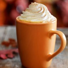 Pumpkin Latte Blast | NutriLiving-1 cup Almond Milk 2 tbsp. Maple Syrup 4 tbsp. Pumpkin ¼ tsp. Vanilla ½ tsp. Nutmeg 1 tsp. Cinnamon ½ cup Brewed Coffee Stop for a cup of java at any coffee shop this time of year and you will find an inviting advertisement for the seasonal pumpkin latte. Starbucks, Dunkin' Donuts and even Seattle's Best has capitalized on this autumnal crowd favorite. It's the perfectly sweet yet savory combination of delicious coffee and pumpkin pie. Comfort food at its…