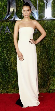 Tony Awards 2015: See All the Best Looks - Bella Hadid from #InStyle