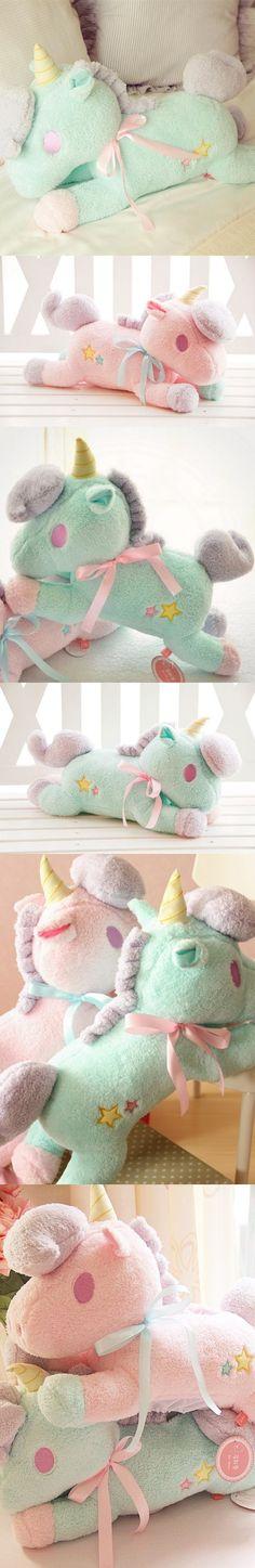55cm kawaii big size Unicorn plush toys kids toys baby toys stuffed PP cotton Unicorn plush doll horse Pillow Children 1 piece