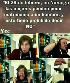 Read El Rubius from the story Memes by saz_wppm with reads. Funny Spanish Memes, Spanish Humor, Funny Memes, Jokes, Karma, Cartoon Memes, Best Memes, Youtubers, I Laughed