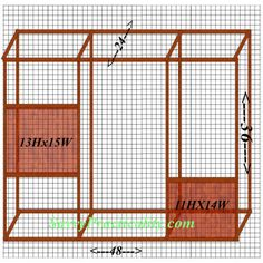 DIY aviary - plans included