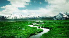 Norway Mountain River