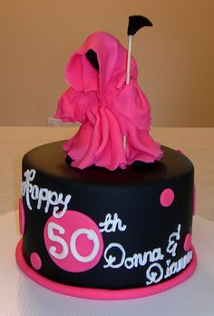 Coffin 50th Birthday 2 Casket Cake and Birthdays