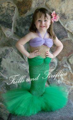 Little Mermaid adorable costume