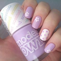 80 Cute and Easy Nail Art Designs to inspire you for your next set of nail styles. Enjoy in photos! Simple Nail Art Designs, Best Nail Art Designs, Easy Nail Art, Flower Nail Designs, Diy Nails, Manicure, Nagellack Design, Nails For Kids, Girls Nails