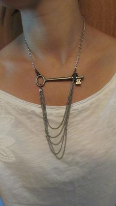 key necklace - this is a new take on it!