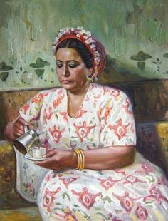 Happy mothers' day to all Egyptian mothers. Old Egypt, Egypt Art, Egyptian Movies, Arabian Art, Arabian Decor, Egyptian Actress, Art Drawings Sketches, Beautiful Paintings, Awesome Paintings