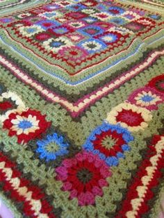 MarmaladeRose: Accidental Blanket crochet afghan