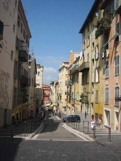 Rue Rossetti, Nice, france