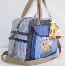 Resultado de imagen para molde de bolsa para maternidade em patchwork