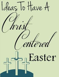 Fun-filled ideas for a Christ-centered Easter. This has a wonderful booklist, crafts, and recipes.