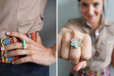 40 Must-See DIY Rings via Brit + Co.