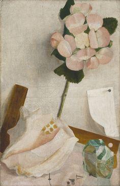 Ángel Zárraga (Mexican, 1886-1946), Naturaleza muerta [Still Life], c.1945. Oil on canvas, 61.5 x 39.5 cm.