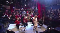 """Anniversary of Darlene Love's annual appearance performing """"Christmas (Baby, Please Come Home)"""" in HQ on The Late Show with David Letterman. Merry Christmas To All, Christmas Games, Christmas Music, Christmas Baby, Christmas Carol, Christmas Colors, Vintage Christmas, Darlene Love, Christmas Coloring Pages"""