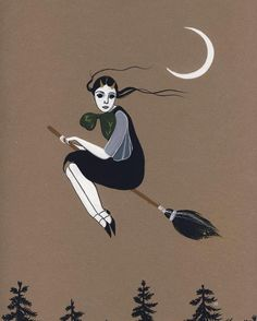 Perfect Autonomy by Amy Earles #illustration #witch