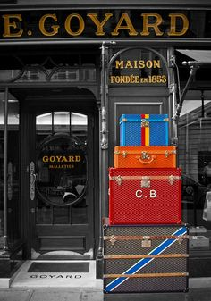 A mnemonic trigger for the iconic (but not often photographed) Goyard pattern, which never fails to leave me entranced.