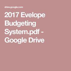 2017 Evelope Budgeting System.pdf - Google Drive