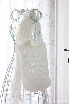Handtasche - Häkeltasche | Markttasche - ein Designerstück von bleuetrose bei DaWanda