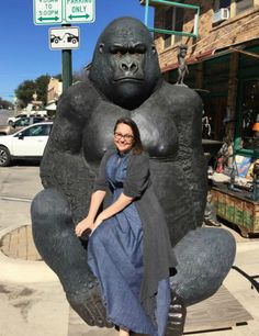 Jenny Lawson's husband won't let her bring home a giant gorilla.
