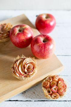 Cardamom Apple Kataifi Nests