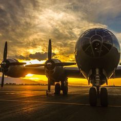 A #sunset shot of the #beautiful #fifi! This awesome #bomber is the last #flying #b29! #aviation #airplane #avgeek #pilot #aviators #instagramaviation #Lrmobile #disciplesofflight