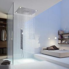Axor starck by Hansgrohe. Waterfall shower