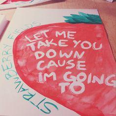 Nothing is real #art #arte #draw #drawing #desenho #paint #paiting #watercolor #aquarela #thebeatles #beatles #music #lyrics #strawberryfields #song #design #rock